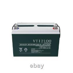 ECO 400W Watt 12V/24V Solar Panel Complete Kit 200Ah For RV Cabin Outdoor Living