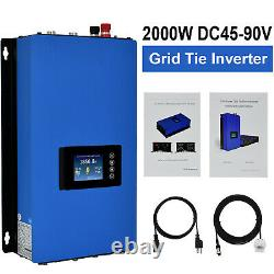Eco-worthy 2000W 1600W 1200W 800W Watt On Grid Tie Solar Panel Kit For Home US