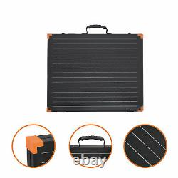FLEXSOLAR G100 100 Watt Briefcase Foldable Portable Solar Panel Charger with Stand