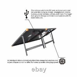 FLEXSOLAR G200 200 Watt Briefcase Foldable Portable Solar Panel Charger with Stand