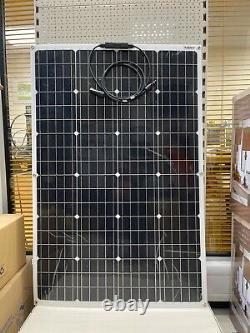 Flexible Solar Panels 120Watt Monocrystalline, for Motorhomes, Vans, Boats