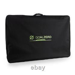 Goal Zero Boulder 200 Briefcase, 200 Watt Foldable Monocrystalline Solar Panel
