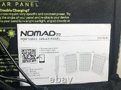 Goal Zero Nomad 20 Solar Panel 20 Watt Foldable Power Charge Pad Hiking Yeti