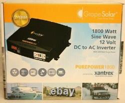 Grape Solar 600W Off-Grid Solar Kit 1800-Watt Continuous AC Output No Panels