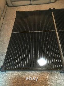 Heavy Duty Industrial 660 Watt Solar System They Are Not The Cheapies Good Cond