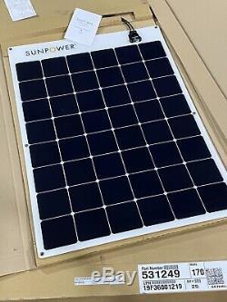 Highest Quality Flexible SunPower E-Flex 170 watt Solar Panel WITH Cables