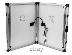 LION ENERGY Solar Panel 100 Watt portable easy carry handle and foldable