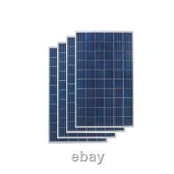 Mastervolt Soladin web1000 Grid Tie System 4 solar panels 1140Watt with cables