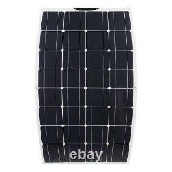 Monocrystalline 400W 18V Highly Flexible Solar Panel Home Waterproof System Kit