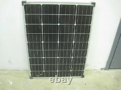 NEW COLEMAN 100 Watt 12 VOLT Crystalline Solar Panel with stand 100W 12V