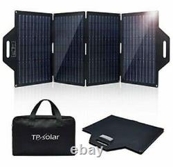 NEW TP-Solar100 Watt Portable Foldable Solar Panel Battery Charge Kit