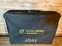 New Goal Zero Boulder 100 Watt Monocrystalline Briefcase Solar Panel With Bag