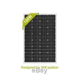 Newpowa 120W watt 24V Monocrystalline Solar Module