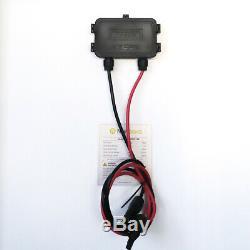 Newpowa 200W 2PCS 100 Watt Mono-crystalline Solar panel RV Marine Home OFF GRID
