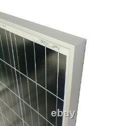 Newpowa 210 Watts Solar Panel 12V Monocrystalline Off Grid Charger for RV Boat
