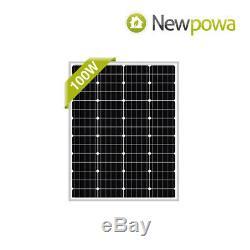 Newpowa 400W Watts 12V Monocrystalline Solar Panel Charging Kit system off grid