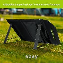 Newpowa 60W Watt 12V Portable Solar Panel Compatible With Normal Solar Generator
