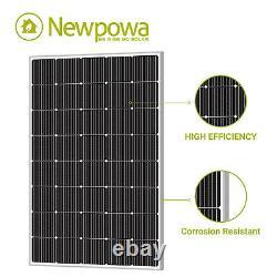 Newpowa Solar Panel 240 Watt Mono 200W for 12V Off-Grid System RV Marine Roof