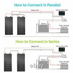 Open Box Renogy 248° 12V 175W Watt High Flexible Mono Solar Panel 175W RV Marine