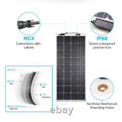 Open Box Renogy 248° Flexible 160W Mono Solar Panel 160W 160 Watt Off Grid Boat