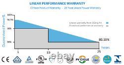 Pack of 15 Solar Panels 310W Monocrystalline efficiency 19% 4650Watt