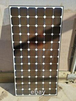 Pallet Of Used 210 Watt Sunpower Mono Solar Panels With Free Shipping
