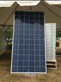 Pallet with (25 panels) of REC 265 Watt Solar Panels We Also Have 300 Watt Panel