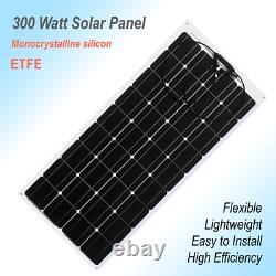 Portable Power Station with 300 Watt Solar Panel and 5000 Watt Inverter