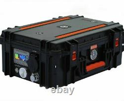 Portable Solar Power Generator +600 Watts Solar Panels Emergency Disaster Backup