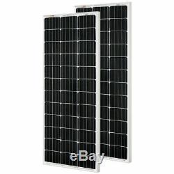 RICH SOLAR 200 Watt 12 Volt Monocrystalline Solar Kit