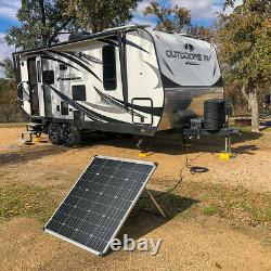 RICH SOLAR 60 Watt 100 Watt 12 Volt Portable Monocrystalline Solar Panel