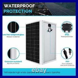 Renogy 100 Watt 12 Volt Monocrystalline Solar Panel Compact Design 42.4 X 20.0 1
