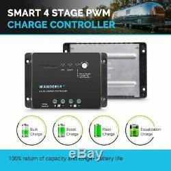 Renogy 100W Watt Mono Solar Panel Bundle Kit With 30A PWM Solar Charge Controller