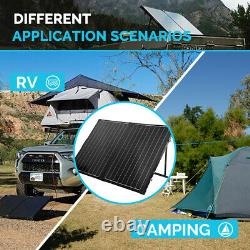 Renogy 100Watt 12Volt Mono Foldable Solar Suitcase With 20A Voyager for RV Camping