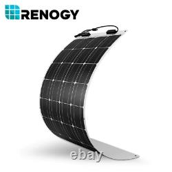 Renogy 200W Watt Solar Flexible Kit With 12V 50A DC-DC On-Board Battery Charger