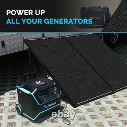 Renogy 200Watt 12Volt Mono Foldable Solar Suitcase With 20A Voyager for RV Camping
