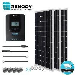 Renogy 300W Watt Solar Panel Starter Kit MPPT Charge Controller System Off Grid