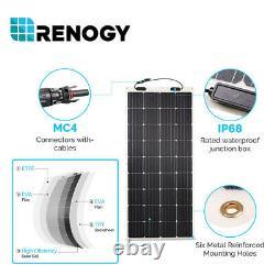 Renogy 350W Watts Solar Flexible Kit 40A 12V/24V MPPT Solar Charge Controller RV