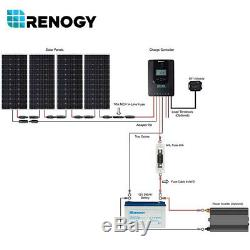 Renogy 400W Watts 12V Mono Solar Panel Premium Kit With 40A MPPT Charge Controller