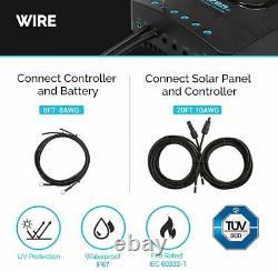 Renogy 400Watt 12Volt Solar Panel Starter Kit With 40A MPPT Charge Controller