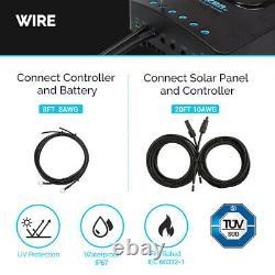 Renogy 400Watt 12Volt Solar Premium Kit With 40A MPPT Charge Controller Off-Grid