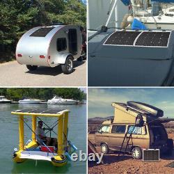 Renogy 50 Watt 12 Volt Flexible Monocrystalline Solar Panel 50W RV Power Camping