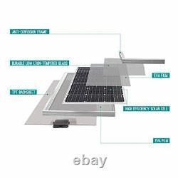 Renogy Compact Design Solar Panel 100 Watt 12 Volt Monocrystalline