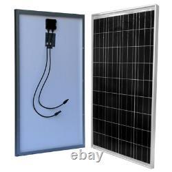 Solar Panel Off-Grid Polycrystalline 100-Watt for 12-Volt Battery Charging