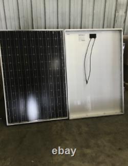 Solar Panels, PALLET OF 24 Panels, 205 Watts each! DIY 4.9kW FREE SHIPPING