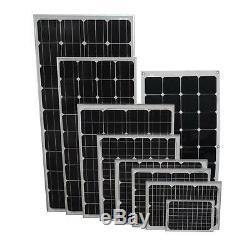 Solar Panels Premium Mono PV Photo-voltaic Panel Connectors Boat Caravan