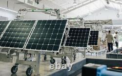 SunPower 165 Watt Flexible Ultralight Solar Panels Maxeon Monocrystaline Cells