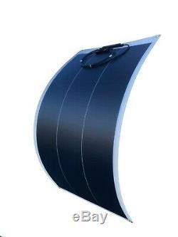 WindyNation 100 Watt 12V Flexible Monocrystalline Solar Panel Battery Charger