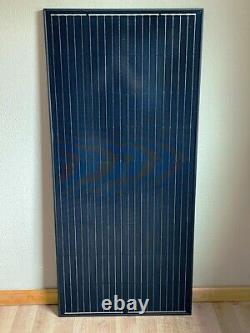 1- 205 Watt 12 Volt Chargeur De Batterie Panneau Solaire Hors Réseau Rv Bateau 22,2% Nouveau Cell