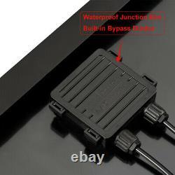 100 Watt 12 Volt Monocristallins Panneau Solaire All Black